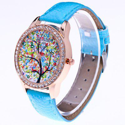 Zhou Lianfa Brand of Lychee Ladys WatchWomens Watches<br>Zhou Lianfa Brand of Lychee Ladys Watch<br><br>Band material: PU<br>Band size: 24 x 2cm<br>Brand: ZhouLianFa<br>Case material: Alloy<br>Clasp type: Pin buckle<br>Dial size: 4 x 4 x 1cm<br>Display type: Analog<br>Movement type: Quartz watch<br>Package Contents: 1 x Watch<br>Package size (L x W x H): 30.00 x 3.00 x 1.00 cm / 11.81 x 1.18 x 0.39 inches<br>Package weight: 0.0210 kg<br>Product weight: 0.0200 kg<br>Shape of the dial: Round<br>Watch style: Cool, Casual, Fashion, Lovely, Outdoor Sports, Classic<br>Watches categories: Women,Female table<br>Water resistance: Life water resistant
