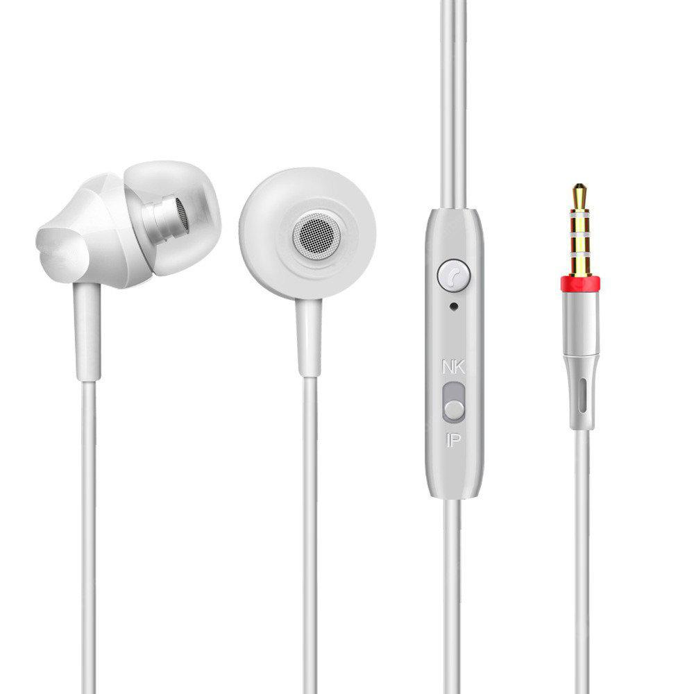 In-Ear Wired Headphones  Stereo Earphones With Microphone Earbuds For 3.5mm Interface Devices