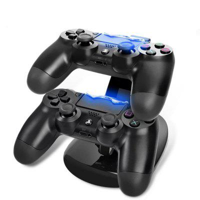 Dual USB Charging Charger Docking Station Stand For PS4 Controlle
