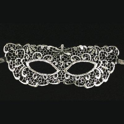 Fashionable Sexy Lace Mask Mysterious Social Party Mask Hot Silver Zorro Mask Goggles