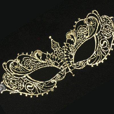 New Fashion Ladies Sexy Eye Mask Masquerade Creative Lace Bronze Pointy Mask