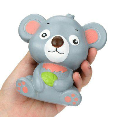 Jumbo Squishy Stress Relief Toy Feito por Enviromental PU Replica Cartoon Koala Bear 12CM Altura