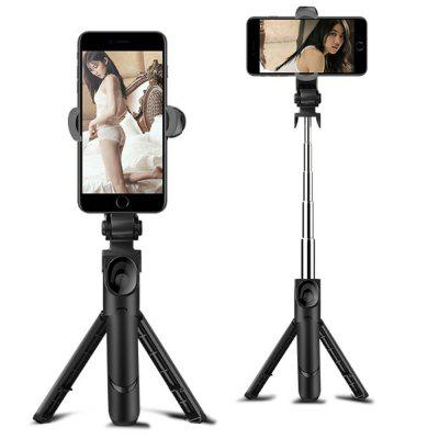 Portable Bluetooth Remote Control Tripod Monopod Handheld Selfie Stick for iPhone 8X