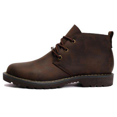 Boots Solid Color Durable Comfy Lacing Shoes Salem The prices of things