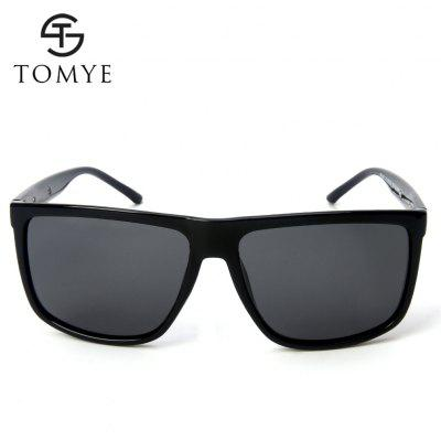 TOMYE P6063 Mens Polarized Sunglasses Fashion Square FrameMens Sunglasses<br>TOMYE P6063 Mens Polarized Sunglasses Fashion Square Frame<br><br>Brand: TOMYE<br>Frame Length: 145mm<br>Frame material: Acetate<br>Gender: For Men<br>Group: Adult<br>Lens height: 52mm<br>Lens material: Resin<br>Lens width: 59mm<br>Lenses Optical Attribute: Polarized<br>Nose: 16mm<br>Package Contents: 1 x Pair of Sunglasses<br>Package size (L x W x H): 17.00 x 9.00 x 7.00 cm / 6.69 x 3.54 x 2.76 inches<br>Package weight: 0.0500 kg<br>Product weight: 0.0230 kg<br>Style: Square<br>Temple Length: 137mm