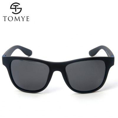 TOMYE P6039 Unisex Polarized SunglassesMens Sunglasses<br>TOMYE P6039 Unisex Polarized Sunglasses<br><br>Brand: TOMYE<br>Frame Length: 150mm<br>Frame material: Acetate<br>Gender: For Men<br>Group: Adult<br>Lens height: 53mm<br>Lens material: Resin<br>Lens width: 53mm<br>Lenses Optical Attribute: Polarized<br>Nose: 21mm<br>Package Contents: 1 x Pair of Sunglasses<br>Package size (L x W x H): 17.00 x 9.00 x 7.00 cm / 6.69 x 3.54 x 2.76 inches<br>Package weight: 0.0500 kg<br>Product weight: 0.0270 kg<br>Style: Square<br>Temple Length: 140mm