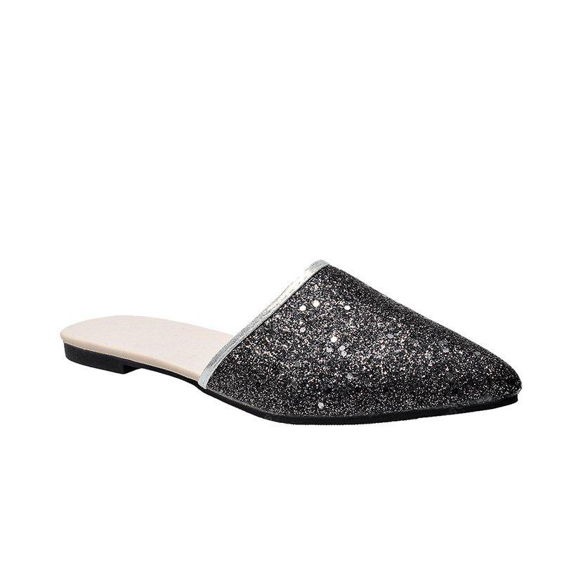 Fashion Pointed Head Flat Slippers