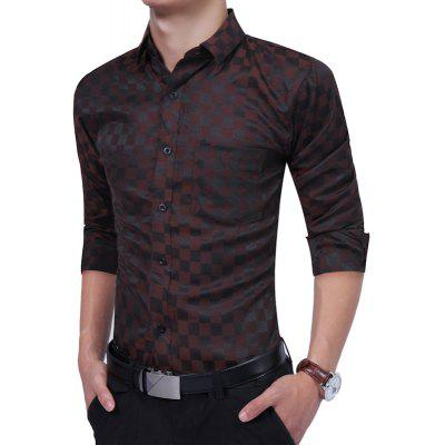 Business Leisure Fashion Plaid Long Sleeved ShirtMens Shirts<br>Business Leisure Fashion Plaid Long Sleeved Shirt<br><br>Collar: Turn-down Collar<br>Material: Cotton, Polyester<br>Package Contents: 1 xShirt<br>Shirts Type: Casual Shirts<br>Sleeve Length: Full<br>Weight: 0.2500kg