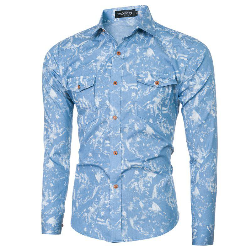 Fashion and Leisure Printing Shirt