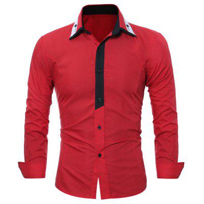 Tailoring Long Sleeved Business Casual Shirt