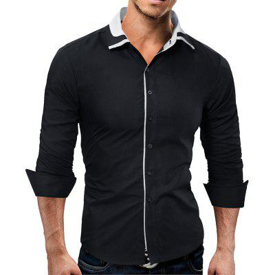 Color Edge All-Match Fashion Shirt