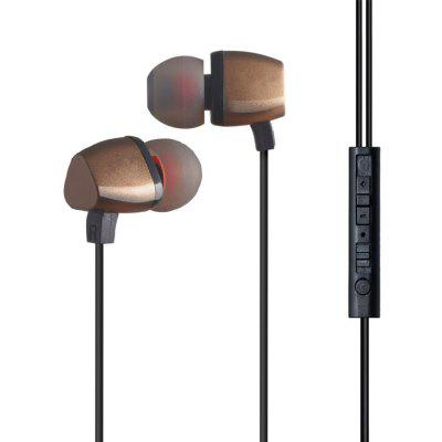 Stereo Wired High Bass Headsets Workout Hi-Fi Earphones Noise Canceling Earbuds with Microphone For iPhone Xiaomi