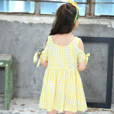 New Girl Strapless Plaid Dress 2015 new design free shipping 16inches american girl doll blue dress dollie