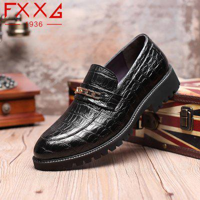 Fashion Flat Bottomed Single Leather ShoesFormal Shoes<br>Fashion Flat Bottomed Single Leather Shoes<br><br>Available Size: 38?39?40?41?42?43?44<br>Closure Type: Slip-On<br>Embellishment: Metal<br>Gender: For Men<br>Outsole Material: Rubber<br>Package Contents: 1xshoes(pair)<br>Pattern Type: Solid<br>Season: Summer, Winter, Spring/Fall<br>Toe Shape: Round Toe<br>Toe Style: Closed Toe<br>Upper Material: PU<br>Weight: 1.5600kg