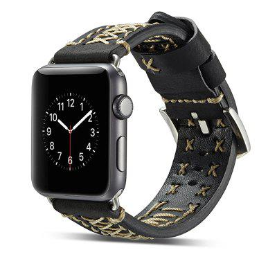 Luxury Leather Watchbands Unique Watch Replacement Sport Band Wrist Bracelet Strap for Apple Watch Series 3 / 2 / 1 42MMWatch Accessories<br>Luxury Leather Watchbands Unique Watch Replacement Sport Band Wrist Bracelet Strap for Apple Watch Series 3 / 2 / 1 42MM<br><br>Material: Synthetic Leather<br>Package Contents: 1 x Band<br>Package size (L x W x H): 20.00 x 6.00 x 1.00 cm / 7.87 x 2.36 x 0.39 inches<br>Package weight: 0.0500 kg<br>Product size (L x W x H): 18.00 x 3.00 x 0.50 cm / 7.09 x 1.18 x 0.2 inches<br>Product weight: 0.0400 kg<br>Type: Smart watch / wristband band