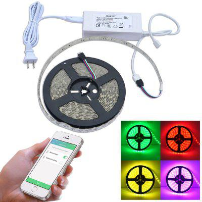 JIAWEN Smart Home 5M Zigbee RGBW LED Light Strip Work with Zigbee Hub AC100 - 240V