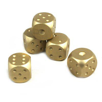 Exquisite Portable Aluminum Alloy Dice 5PCSOther Educational Toys<br>Exquisite Portable Aluminum Alloy Dice 5PCS<br><br>Age: 6 Years+<br>Applicable gender: Unisex<br>Design Style: Other<br>Features: Educational, Others<br>Gender: Unisex<br>Material: Alloy<br>Package Contents: 5 x Dice<br>Package size (L x W x H): 8.00 x 7.00 x 2.50 cm / 3.15 x 2.76 x 0.98 inches<br>Package weight: 0.0700 kg<br>Product size (L x W x H): 1.50 x 1.50 x 1.50 cm / 0.59 x 0.59 x 0.59 inches<br>Product weight: 0.0450 kg<br>Small Parts: No<br>Type: Intelligence toys<br>Washing: Yes