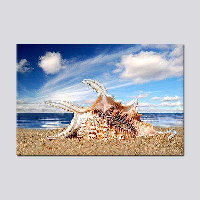 QiaoJiaHuaYuan  No Frame Canvas Living Room Sofa Background Sea View Decoration Hanging Picture