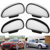 Car Rearview Auxiliary Mirror Auto Coach Reversing Lens Blind Spot Glass - SILVER ( LEFT )