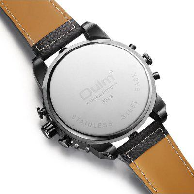 Mens New Four Place Leisure Fashion TableMens Watches<br>Mens New Four Place Leisure Fashion Table<br><br>Band material: PU Leather<br>Case material: Alloy<br>Clasp type: Pin buckle<br>Display type: Analog<br>Movement type: Quartz watch<br>Package Contents: 1 X WATCH<br>Package size (L x W x H): 10.00 x 5.00 x 3.00 cm / 3.94 x 1.97 x 1.18 inches<br>Package weight: 0.2000 kg<br>Shape of the dial: Round<br>Special features: Multi Time Zones<br>Watch style: Casual, Fashion, Business, Cool, Trends in outdoor sports<br>Watches categories: Men
