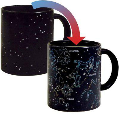 Fashion Heat Changing Constellation Mug Color Changing Cup 12 Ounce