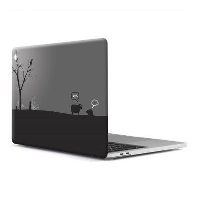 Computer Shell Laptop Case Keyboard Film para MacBook Pro 13.3 pulgadas 3D Wallpaper Series 4