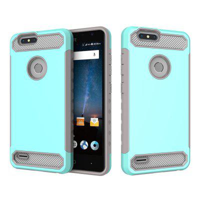 for ZTE Z982 Shockproof  Hard PC Flexible TPU Laminated Carbon Fiber Chrome Anti-scratch Protective  CaseCases &amp; Leather<br>for ZTE Z982 Shockproof  Hard PC Flexible TPU Laminated Carbon Fiber Chrome Anti-scratch Protective  Case<br><br>Color: Rose Gold,Black,Red,Green,Gold,Royalblue<br>Compatible Model: ZTE Z982<br>Features: Back Cover, Bumper Frame<br>Material: TPU, PC<br>Package Contents: 1 x Phone Case<br>Package size (L x W x H): 18.00 x 7.00 x 2.00 cm / 7.09 x 2.76 x 0.79 inches<br>Package weight: 0.0700 kg<br>Style: Special Design, Novelty