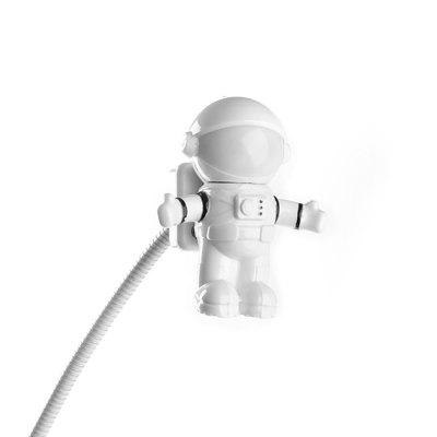 Creative Spaceman Astronaut LED Flexible USB Light