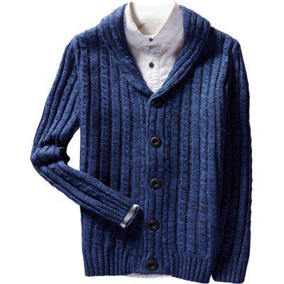 New Winter Long Sleeved Casual Knit Cardigan Sweater