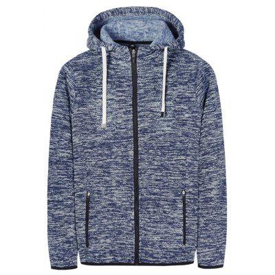 Autumn and Winter Casual Hooded Cardigan Slim Fashion Jacket