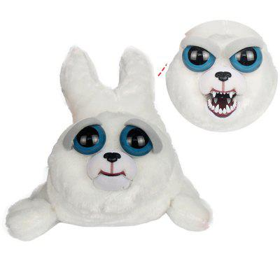 Feisty Pets Plush Stuffed Harp Seal Pup Turns with A Squeeze