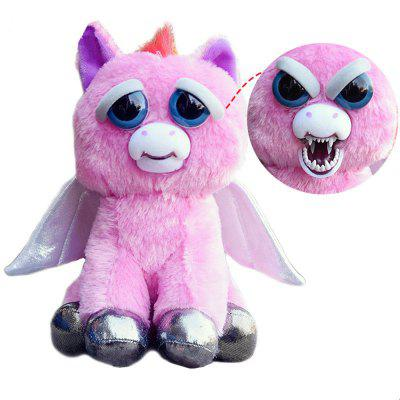 Feisty Pets Active Expression Stuffed Scary Face Toy Animal Style