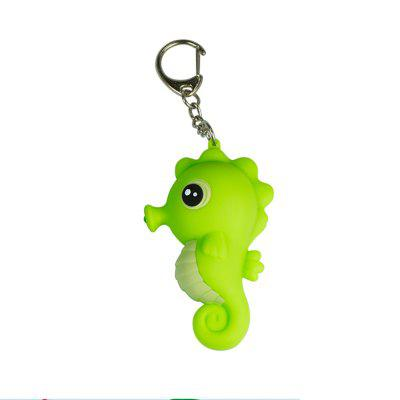 Sea Animals LED Flashlight with Sound Emitting Light Seahorse