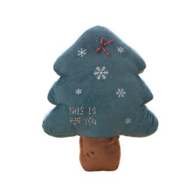 New Christmas Tree Pillow Plush Toys Creative Decoration Gifts