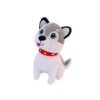Cute Husky Doll Dog Style Plush Toy for ChildrenStuffed Cartoon Toys<br>Cute Husky Doll Dog Style Plush Toy for Children<br><br>Features: Stuffed and Plush<br>Materials: PP Cotton<br>Package Contents: 1xPlush toy<br>Package size: 30.00 x 30.00 x 20.00 cm / 11.81 x 11.81 x 7.87 inches<br>Package weight: 0.2000 kg<br>Series: Fashion<br>Theme: Other