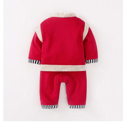 Infant Suit Full Moon Newborn Costume Plus Velvet Thick Winter ModelsBoys Clothing Sets<br>Infant Suit Full Moon Newborn Costume Plus Velvet Thick Winter Models<br><br>Closure Type: Pullover<br>Collar: V-Neck<br>Fabric Type: Jersey<br>Package Contents: 1 x Suit<br>Package size (L x W x H): 1.00 x 1.00 x 1.00 cm / 0.39 x 0.39 x 0.39 inches<br>Package weight: 0.9000 kg<br>Pattern Style: Hand-painted<br>Season: Winter<br>Weight: 0.9000kg