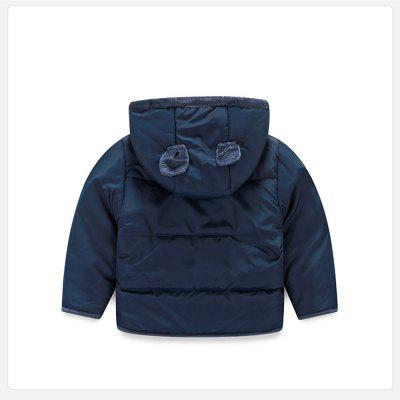 Baby Clothes Autumn and Winter Coat Winter Boy and Girl Plus Velvet Padded Jacket 2017 new boy anorak winter jacket juveniles winter jacket high quality warm plus down and parka anorak jacket