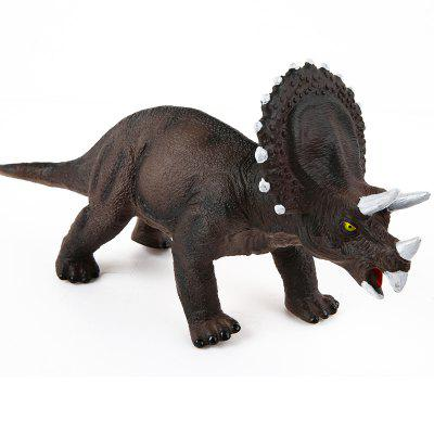 Children Soft Plastic Dinosaur Model ToyMovies &amp; TV Action Figures<br>Children Soft Plastic Dinosaur Model Toy<br><br>Completeness: Finished Goods<br>Gender: Boys,Girls,Kids<br>Materials: Plastic, ABS<br>Package Contents: 1 x Dinosaur Model, 1 x Built-in Button Battery<br>Package size: 35.00 x 9.00 x 14.00 cm / 13.78 x 3.54 x 5.51 inches<br>Package weight: 0.2300 kg<br>Product weight: 0.2200 kg<br>Stem From: Other<br>Theme: Animals