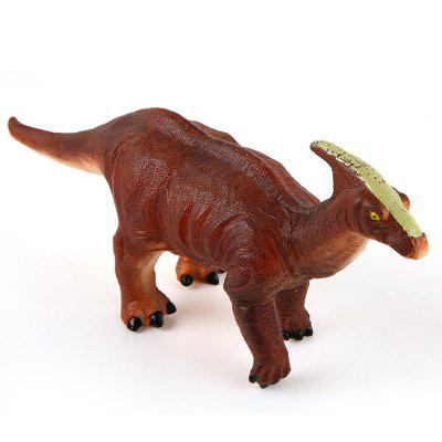 Soft Toy Dinosaur Saurolophus ModelMovies &amp; TV Action Figures<br>Soft Toy Dinosaur Saurolophus Model<br><br>Completeness: Finished Goods<br>Gender: Boys,Girls,Kids<br>Materials: Plastic, ABS<br>Package Contents: 1 x Dinosaur Model, 1 x Built-in Button Battery<br>Package size: 35.50 x 8.00 x 13.50 cm / 13.98 x 3.15 x 5.31 inches<br>Package weight: 0.2100 kg<br>Product weight: 0.2000 kg<br>Stem From: Other<br>Theme: Animals