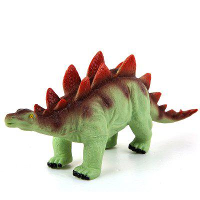 Children Soft Plastic Stegosaurus Dinosaur Toy Model