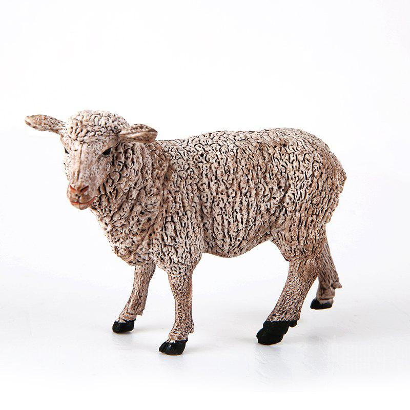 Sheep Static Model Toy Ornaments