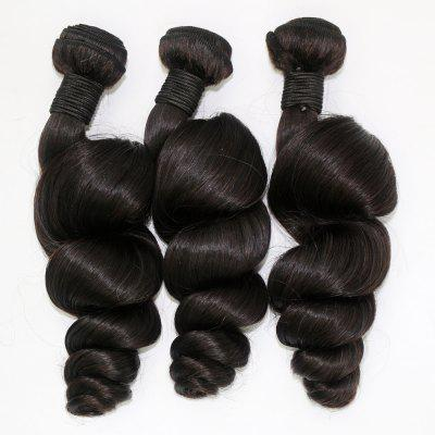 Loose Wave 100 Percent Brazilian Human Virgin Hair Weave 4pcs/lotHair Weaves<br>Loose Wave 100 Percent Brazilian Human Virgin Hair Weave 4pcs/lot<br><br>Chemical Processing: None<br>Color: Natural Black<br>Color Type: Pure Color<br>Hair Grade: 6A+ 100% Unprocessed Virgin Hair<br>Hair Quality: Virgin Hair<br>Hair Weft: Machine Double Weft<br>Material: Human Hair<br>Package Contents(pcs): 4 x Hair Weave<br>Package size (L x W x H): 20.00 x 10.00 x 5.00 cm / 7.87 x 3.94 x 1.97 inches<br>Package weight: 0.5000 kg<br>Source: Brazilian Hair<br>Style: Afro Curly<br>Type: Human Hair Weaves