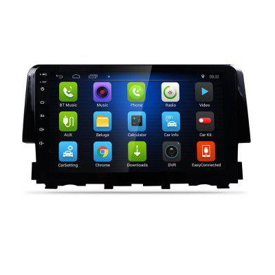 2016 Car GPS Navigation Navigator For Honda Civic 9.0 Inch With CANBUS