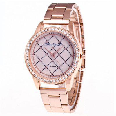 ZhouLianFa Top Brand Rose Gold Band Creative Network Quartz Watch with Gift Box and BeadsWomens Watches<br>ZhouLianFa Top Brand Rose Gold Band Creative Network Quartz Watch with Gift Box and Beads<br><br>Band material: Stainless Steel<br>Band size: 23 x 2cm<br>Brand: ZhouLianFa<br>Case material: Alloy<br>Clasp type: Folding clasp with safety<br>Dial size: 4 x 4 x 1cm<br>Display type: Analog<br>Movement type: Quartz watch<br>Package Contents: 1 x Watch, 1 x Box, 1 x String of Beads<br>Package size (L x W x H): 12.00 x 8.00 x 9.00 cm / 4.72 x 3.15 x 3.54 inches<br>Package weight: 0.1500 kg<br>Product size (L x W x H): 23.00 x 4.00 x 1.00 cm / 9.06 x 1.57 x 0.39 inches<br>Product weight: 0.0600 kg<br>Shape of the dial: Round<br>Watch mirror: Mineral glass<br>Watch style: Business, Casual, Fashion, Retro, Outdoor Sports, Childlike, Classic<br>Watches categories: Women,Female table<br>Water resistance: No