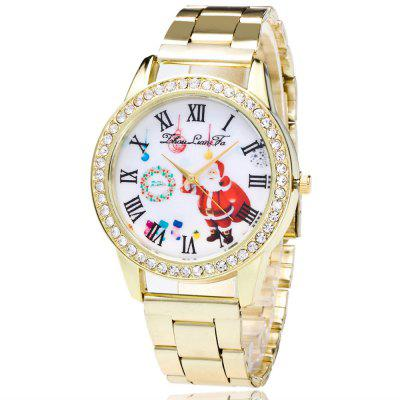 ZhouLianFa The New Brand of Gold Band Elderly Pattern Quartz Watch with Gift Box and BeadsWomens Watches<br>ZhouLianFa The New Brand of Gold Band Elderly Pattern Quartz Watch with Gift Box and Beads<br><br>Band material: Stainless Steel<br>Band size: 23 x 2cm<br>Brand: ZhouLianFa<br>Case material: Alloy<br>Clasp type: Folding clasp with safety<br>Dial size: 4 x 4 x 1cm<br>Display type: Analog<br>Movement type: Quartz watch<br>Package Contents: 1 x Watch, 1 x Box, 1 x String of Beads<br>Package size (L x W x H): 12.00 x 8.00 x 9.00 cm / 4.72 x 3.15 x 3.54 inches<br>Package weight: 0.1500 kg<br>Product size (L x W x H): 23.00 x 4.00 x 1.00 cm / 9.06 x 1.57 x 0.39 inches<br>Product weight: 0.0600 kg<br>Shape of the dial: Round<br>Watch mirror: Mineral glass<br>Watch style: Business, Casual, Fashion, Retro, Outdoor Sports, Childlike, Classic<br>Watches categories: Women,Female table<br>Water resistance: No