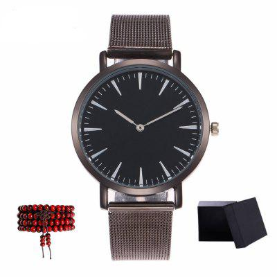 Kingou The New Network with Ladies Business Luxury Quartz Watch with Gift Box and Beads