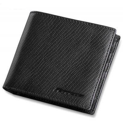 Felix First Layer of Leather Men's Simple Fashion Short Wallet Business