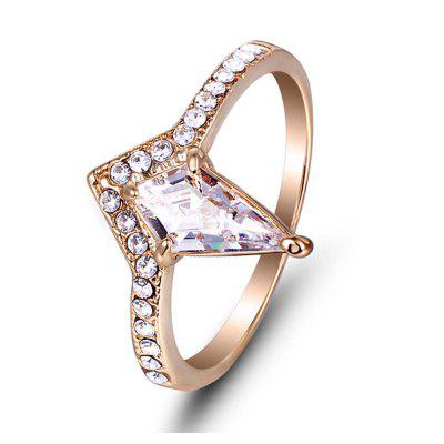 Simple and Alloy Diamond Ring Design