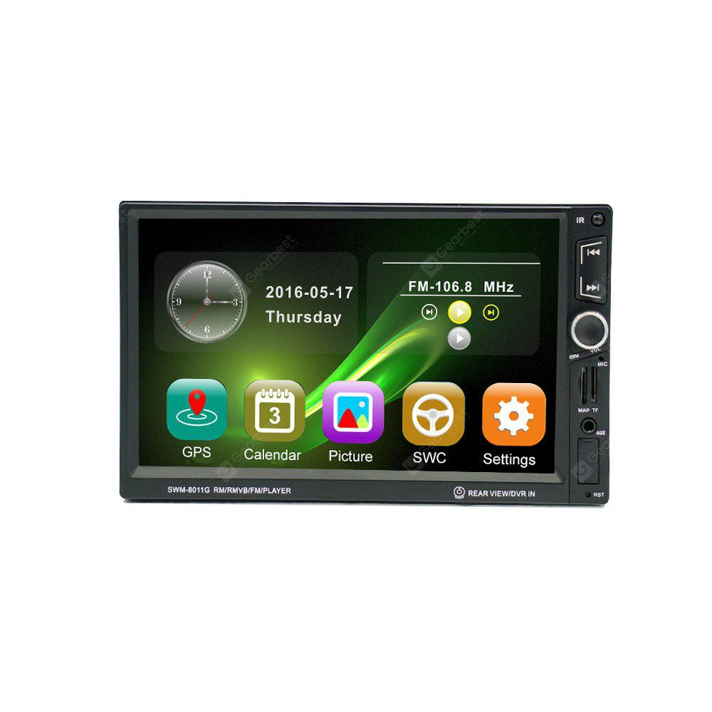 8011G 7 inch Car MP5 player with navigation reversing