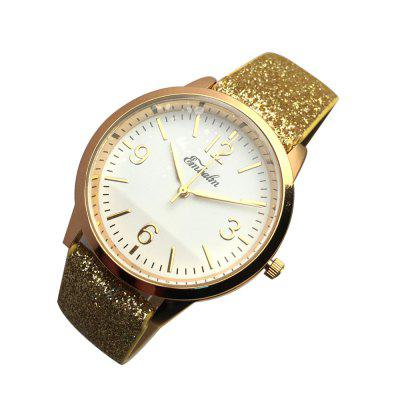EMBALM 0003 Ladies Fashion PU Band WatchWomens Watches<br>EMBALM 0003 Ladies Fashion PU Band Watch<br><br>Band material: PU<br>Case material: Zinc Alloy<br>Display type: Analog<br>Movement type: Quartz watch<br>Package Contents: 1 x Watch<br>Package size (L x W x H): 26.00 x 6.00 x 3.00 cm / 10.24 x 2.36 x 1.18 inches<br>Package weight: 0.0600 kg<br>Product size (L x W x H): 23.80 x 3.60 x 0.96 cm / 9.37 x 1.42 x 0.38 inches<br>Product weight: 0.0320 kg<br>Shape of the dial: Round<br>Watch style: Fashion, Casual<br>Watches categories: Women<br>Water resistance: No